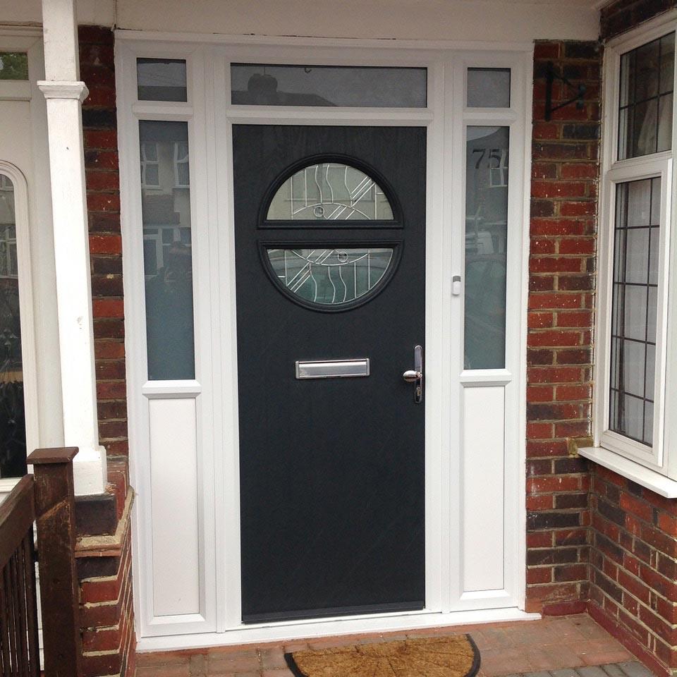 Contemporary Carshalton Composite Door Composite Doors