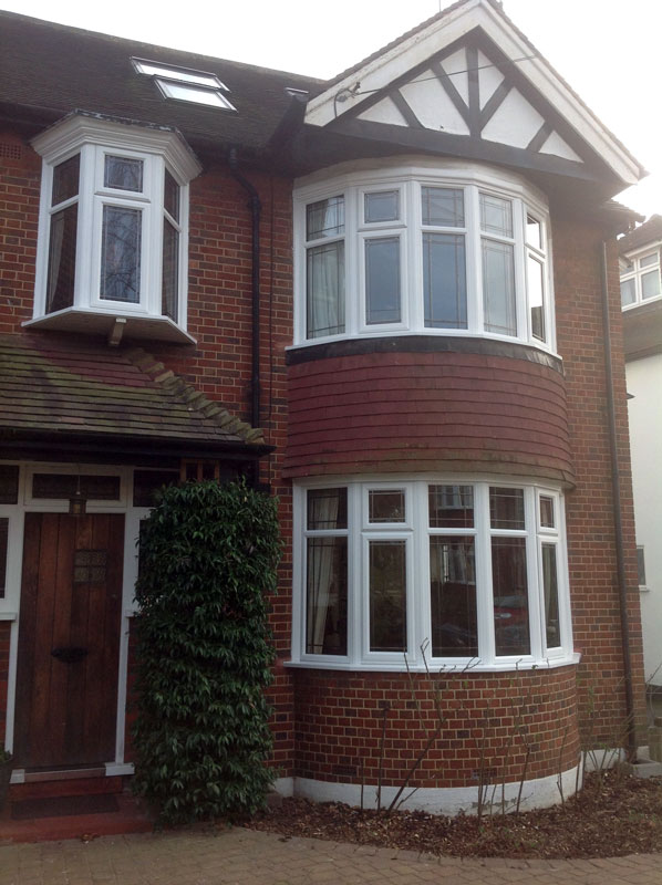 Front of house window door installation gallery sci - Houses with bay windows ...