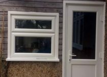Large PVCu Window & Door Installation in Morden