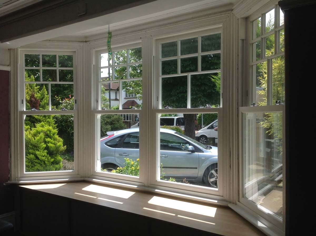Sliding Sash Windows In Mitcham South West London Sci