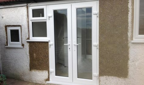 PVCu French Door Installation in Sutton