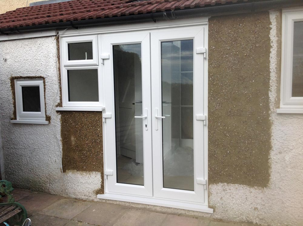Pvcu French Door Installation In Sutton Upvc French Doors