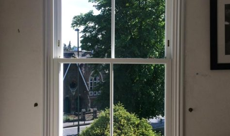 Woodgrain Sliding Sash Windows
