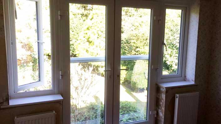 French Doors With A Juliet Balcony French Door Installations In Surrey