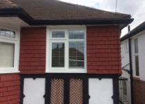 White PVCu Casement Windows