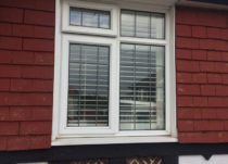 White PVCu Casement Windows