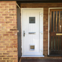 New PVCu Front Door in South West London