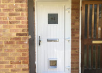 New PVCu Front Door in South West London