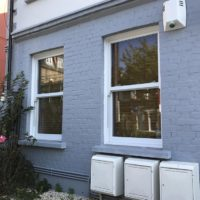 Small Sliding Sash Window Installation