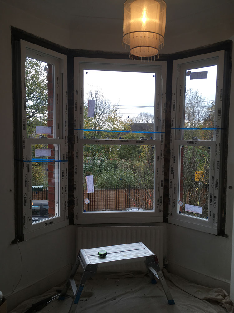 New Heritage Rose Sash Windows In Wandsworth Sci Windows