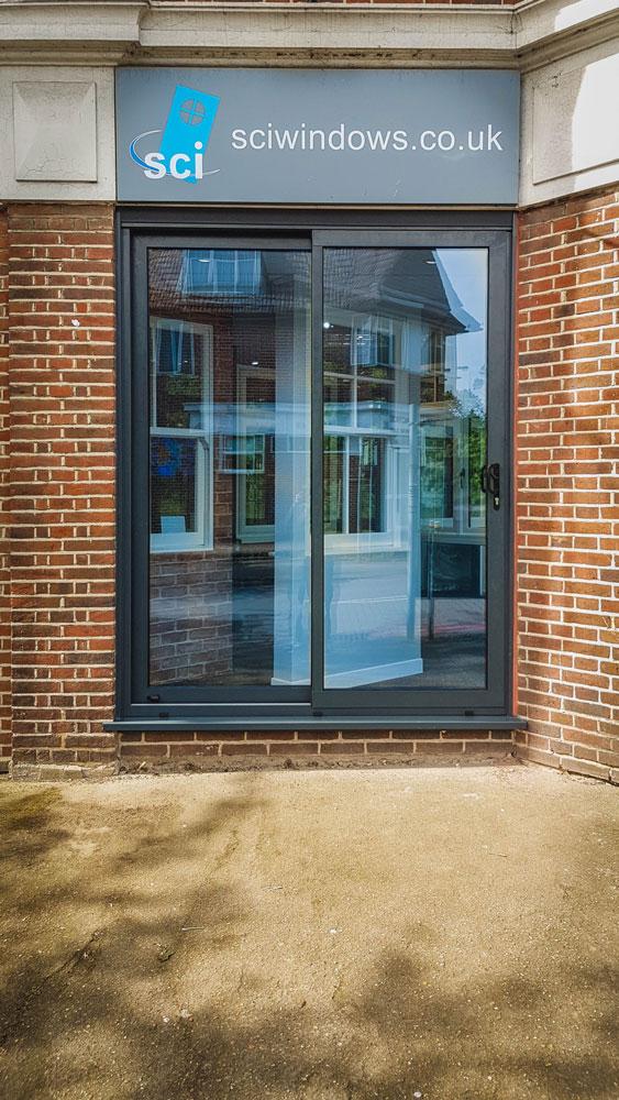 New Doors For Sci Windows Grey Aluminium Notus Sliding