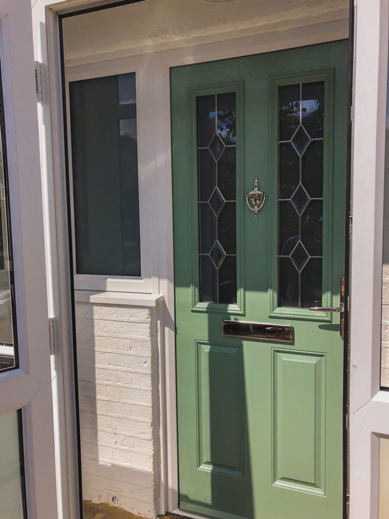 best website 2b775 2bce9 New Windows and a Composite Door Added to the Updated Porch