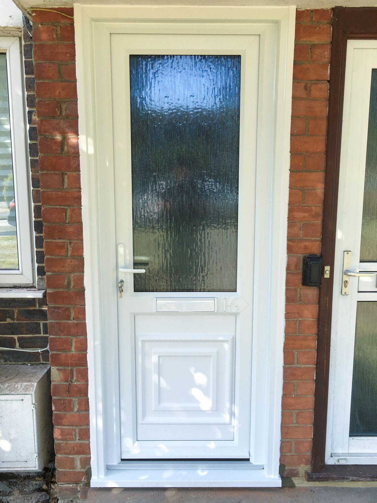 New Resi Door Installed In Sutton Door Installations By