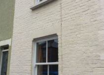 White Heritage Rose PVCu Sash Windows